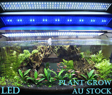 90-120CM Aquarium Light LED Plant Lighting 3ft Aqua Fish Tank Day/Moon Lights
