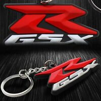 Extra 3D Soft ABS Rubber Key Chain Fob Ring Logo GSXR 600/750 Gixxer 1000/Busa