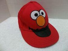 Sesame Street Elmo Baseball Cap Hat Lid -One Size Fits Most Small/Medium Non-Adj