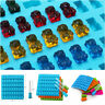 53 Jelly Mould Cavity Silicone Gummy Bear Chocolate Mold Candy Maker Ice Tray1PC