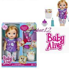 Baby Alive Brushy Brushy Interactive Baby Doll Blonde