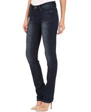 PAIGE Premium Denim JEANS Womens 25 SKYLINE STRAIGHT Leg DESIGNER Dark Wash