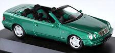 Mercedes Benz CLK A 208 Cabrio 1998-99 grün green metallic 1:43 Schuco