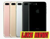 Apple iPhone 7 Plus - 4G LTE (GSM UNLOCKED) Smartphone W/ 100% BATT CAPACITY