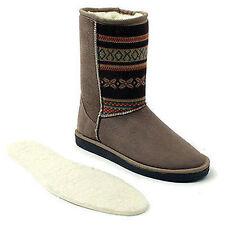 Shoe Insoles Unisex Synthetic Sheep Wool Winter Warm Hot Accs penguinshop