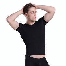 T-shirt maillot corps Noir plum Taille M  très doux transparent sexy Ref P40