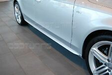 Audi A6 C6 4F Side Skirts Side Sideskirts Blades S-Line Look Estate Saloon