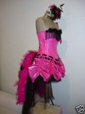 BURLESQUE corset costume, showgirl in any colour.