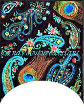 20 water slide nail art transfers decals paisley french tip 3/4 long