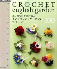 CROCHET English Garden CORSAGE 100 - Japanese Craft Book