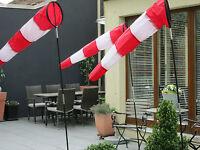 Windsocke Windsack AIRSHOW  Flugplatz / Airport / manche aéroport aérodrome
