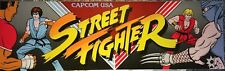 "Street Fighter Arcade Marquee 26"" x 8"""