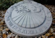 Sonnenuhr Ø 41,5 cm, Blickfang, Skulpturen, Steinguss, Gartendeko, Gartenfiguren