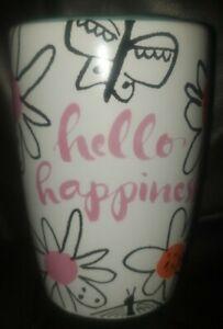 Creative Bath Kathy Davis Hello Happiness Toothbrush Holder