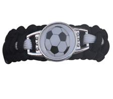 Soccer Paracord Bracelets for Kids - Gifts for Girls & Boys