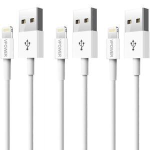 3x Ladekabel für Apple iPhone SE iPhone 6 iPhone 7 iPhone 8 6s iPhone 11 X iPad