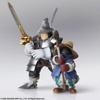Final Fantasy IX Vivi Ornitier Adelbert Steiner Bring Arts 2-Pack Action Figures