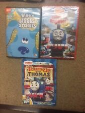 Lot of 3 DVD Thomas and Friends kids children's & BLUES CLUES DVDs movies- 46A