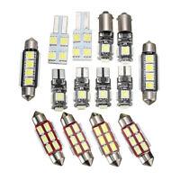 14pc Car LED Plate Interior Reading Light Festoon Bulb For VW Transporter T5 -