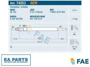 Glow Plug for CHRYSLER MERCEDES-BENZ FAE 74253