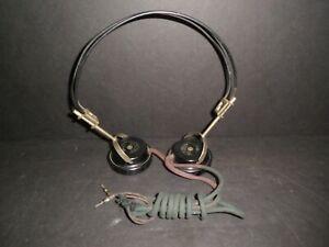 Antique Radio Headphones, Acme & Brandes Superior - Excellent Condition For Age
