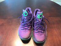 Nike Kevin Durant Purple KD Basketball Shoe Size 12