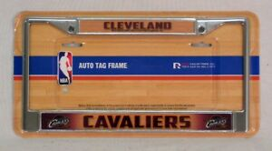 Cleveland Cavaliers Chrome Metal License Plate Frame FREE US SHIPPING
