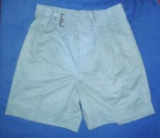HONG KONG / SINGAPORE POLICE SHORTS - COTTON SAFARI SUIT USED CONDITION