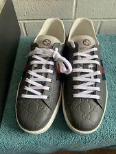 Gucci Ace Sneaker Grey Sz10.5g 11.5
