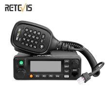 Brand NewRetevis Rt90 Dmr Dual Band Standby Display Digital 50W Mobile Car Radio