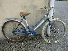 vélo marque motoconfort de femme vintage ancien.