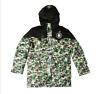 Men's coat Winter Thicken Green Camouflage Padded Jacket A Bathing Ape Bape