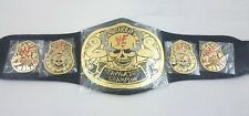 Stone Cold Smoking Skull Championship Leather Belt Adult Replica Title Belts