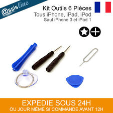 KIT OUTILS IPHONE 4 4S 5 5C 5S 6 6+ 6S IPAD IPOD TOURNEVIS REPARATION TELEPHONE