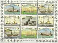 Timbres Bateaux St Thomas et Prince BF 806/9 ** lot 18004