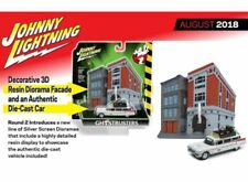 Johnny Lightning JLSP031 1/64 1959 GHOSTBUSTERS ECTO 1A WITH FIREHOUSE