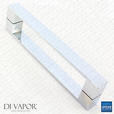 Di vapore (R) 192mm solido doccia in acciaio inox maniglia della porta | 19.2cm Foro per