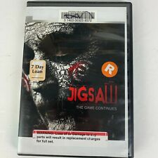 Jigsaw The Game Continues - Blu-ray  Ex-Library Used (Movie plus extra features)