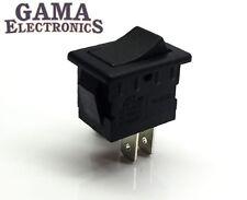 Mini 10 Amp Rocker Switch Single Pole Single Throw SPST Off-On - 001-B/B