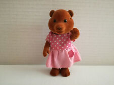 Simba Bärenwald Hamster Frau hellrosa Rock rosa T-Shirt mit weiß Punkte 11,5 cm