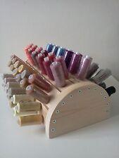 Filati PER CUCIRE Organizzatore Rack 72 bobina di stoccaggio Holder threadgehog