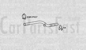 EXHAUST FRONT PIPE Mercedes Benz Sprinter 2.2 Diesel 0 02/2000 to 09/2006