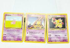 Pokemon Cards Abra Kadabra Slowpoke Lot Psyshock Super Psy