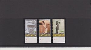 Jamaica George Headley Centenary Issue of Year 2009 Set & S/S MNH