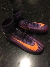 Nuovo con Scatola sockboot Nike JR Mercurial Superfly V FG TG UK 5 Scarpe da calcio