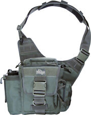 "Maxpedition Jumbo Versipack 0412F Foliage Green. Main compartment measures 9"" x"