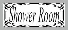 Self Adhesive Shower Room Door Sign Vinyl Sticker, Decal BathRoom