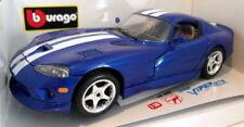Véhicules miniatures bleue Burago pour Dodge