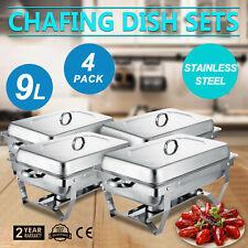 Réchaud Dish repas plus chaud warmhalte récipients GN-récipient en acier inoxydable 12 pièces Set
