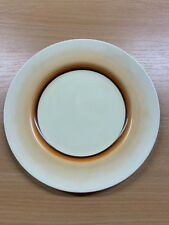 "CLARICE CLIFF ART DECO NEWPORT POTTERY 8""-WIDE SIDE PLATE (CC9)"